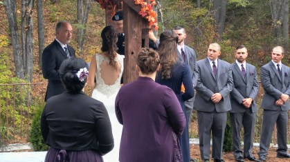 At the altar - Curry Event Services of New England