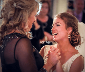 Bride and Her Mother - Aldrich Mansion - Curry Event Services