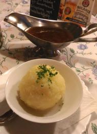 Knödel, potato dumplings, Zum Hax'n-Wirt, German restaurant, ドイツのレストラン, deutsches Restaurant, Berlin, ベルリン, deutsche Küche, German cuisine, ドイツ料理, Bavarian cuisine, bayerische Küche