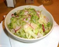 salad, Salat, Zum Hax'n-Wirt, German restaurant, ドイツのレストラン, deutsches Restaurant, Berlin, ベルリン, deutsche Küche, German cuisine, ドイツ料理, Bavarian cuisine, bayerische Küche