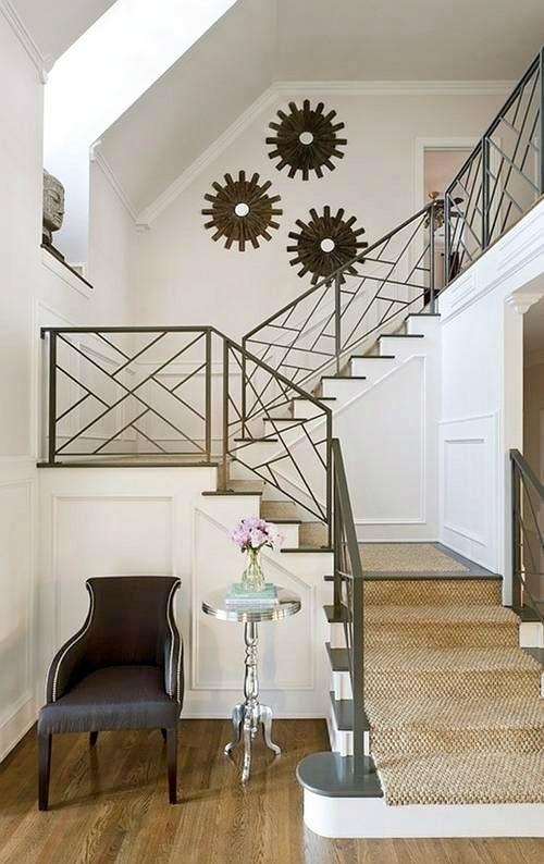 25 diseos de barandales para escaleras interiores y exteriores  Decoracion de interiores