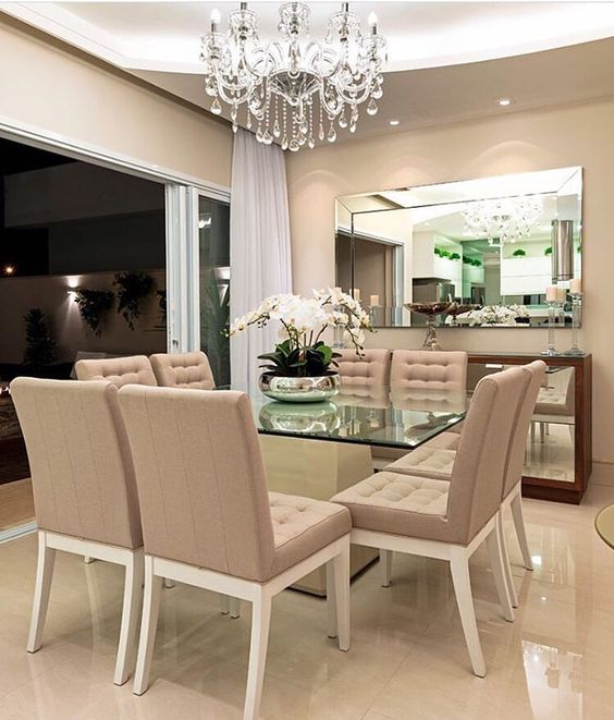 Comedores modernos de 4 6 y 8 sillas  Elegantes de