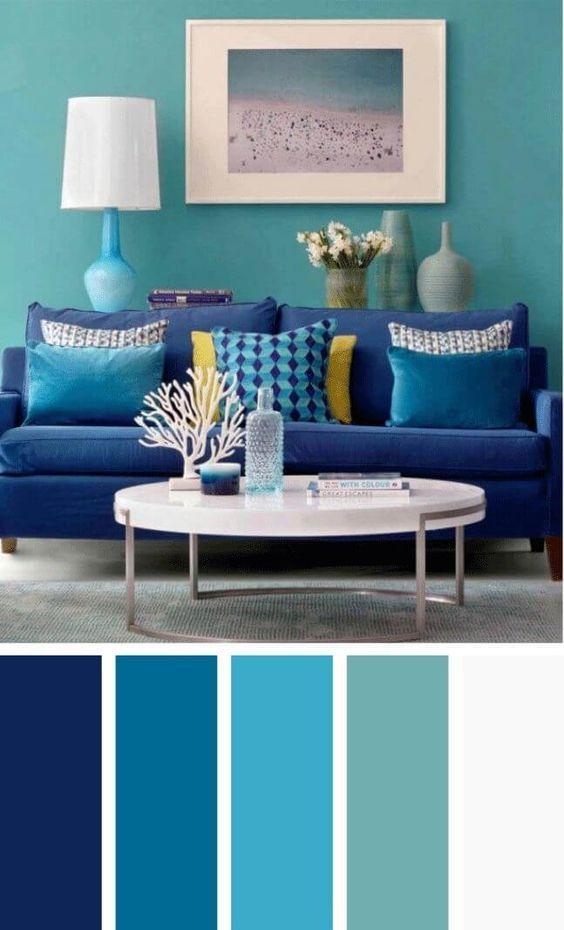 Colores para decorar salas 2019  Tendencias en color para