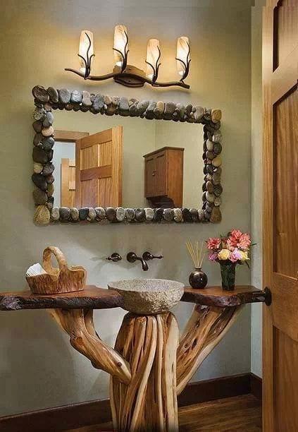 ideas de como decorar con madera 18  Curso de