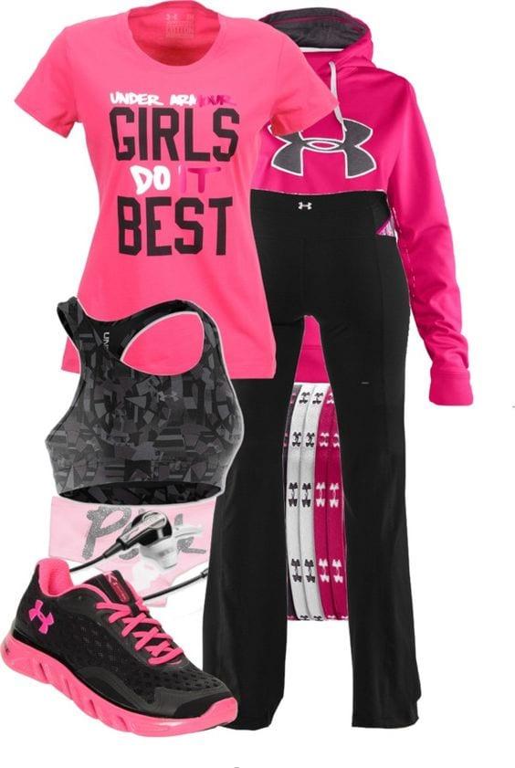 outfits sport 22  Curso de Organizacion del hogar y