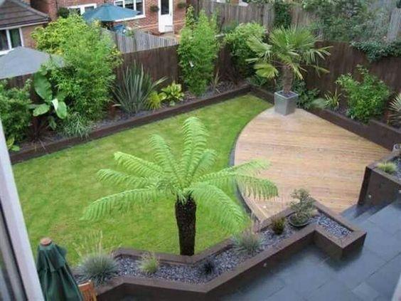 Ideas para jardines traseros 13  Curso de Organizacion del hogar y Decoracion de Interiores
