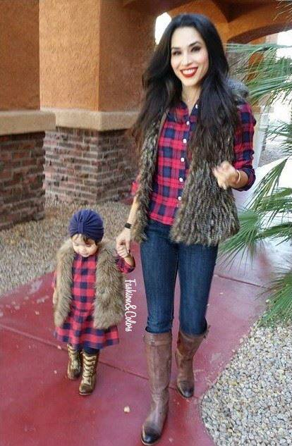 Outfits para mama e hija 20  Curso de Organizacion del