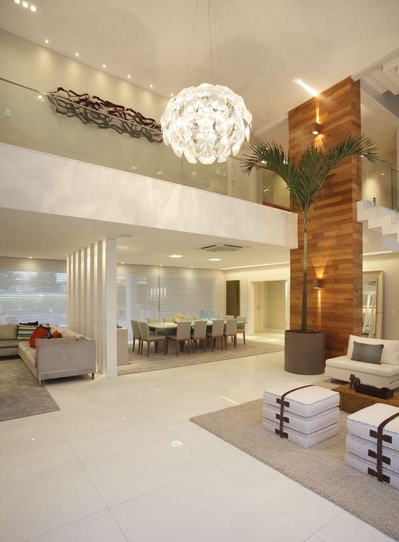 Decoracion de sala y comedor en espacios grandes 11