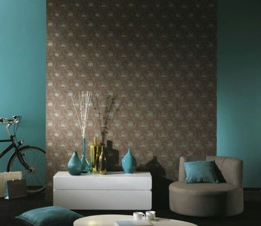 Decoracion de salas con papel tapiz 14  Curso de