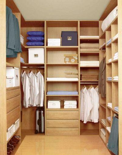 Diseos de closets pequeos 16  Curso de Organizacion