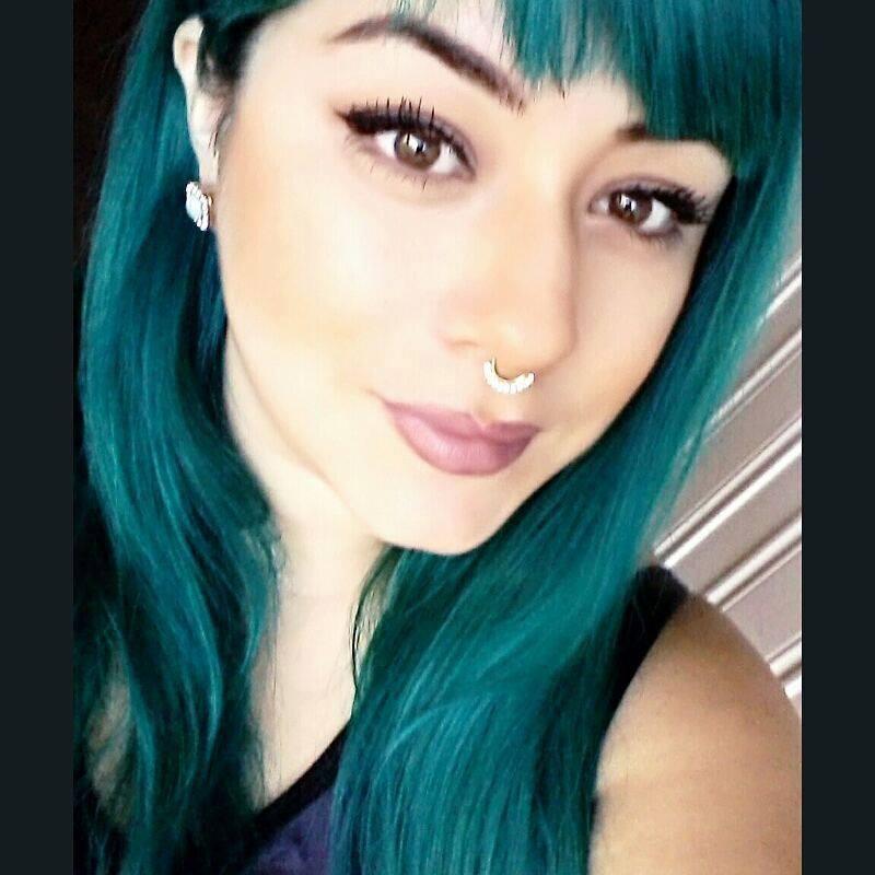 Tonos de cabello verde oscuro 11  Curso de Organizacion
