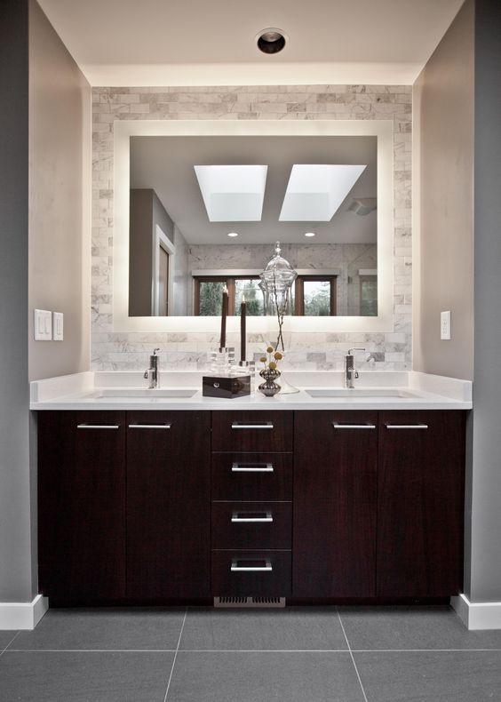 Diseos de espejos para bao