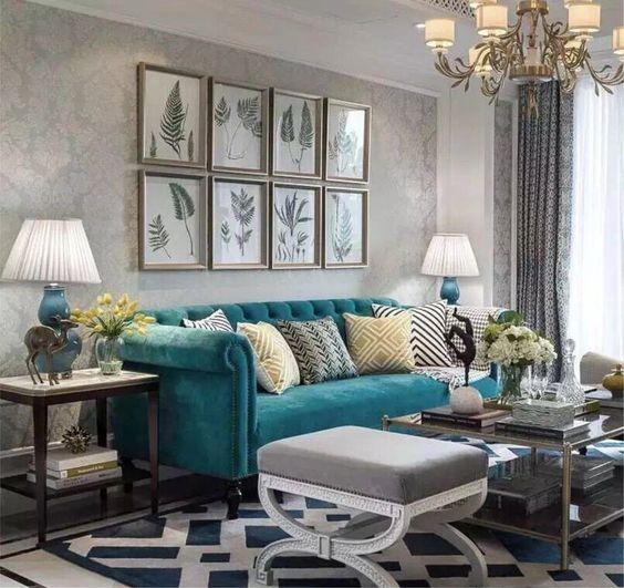 Salas modernas 2019  de 200 fotos e ideas de decoracin y