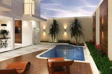 Casas modernas con piscina Curso de Organizacion del hogar y Decoracion de Interiores