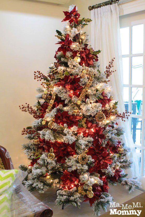 Arbol De Navidad Blanco Decorado Awesome Es Una Propuesta