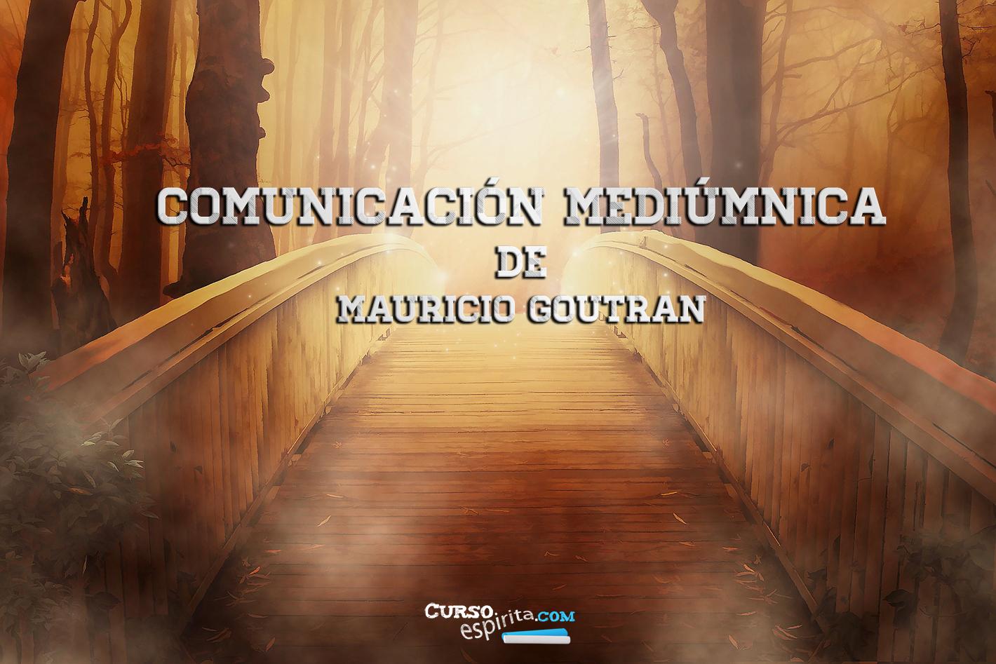 Imagen del video Comunicación mediúmnica de Mauricio Goutran