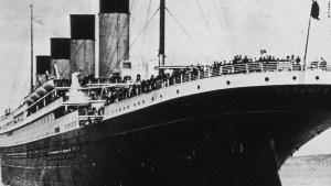 Imagen del Titanic