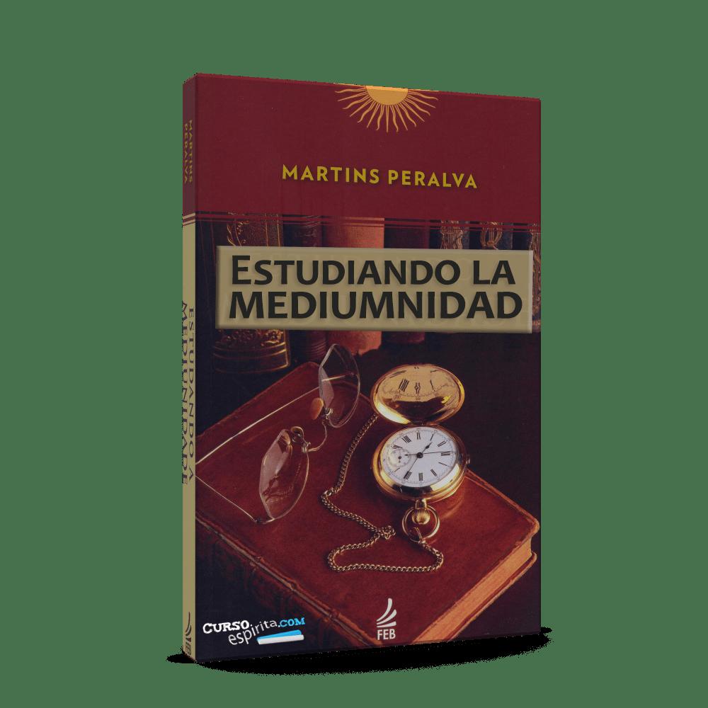 Portada Estudiando la Mediumnidad por Martíns Peralva