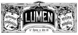 Lumen, Revista fundada por Quintín López