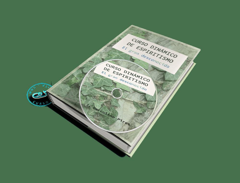Portada Audiolibro Curso Dinámico de Espiritismo - El gran desconocido por J. Herculano Pires