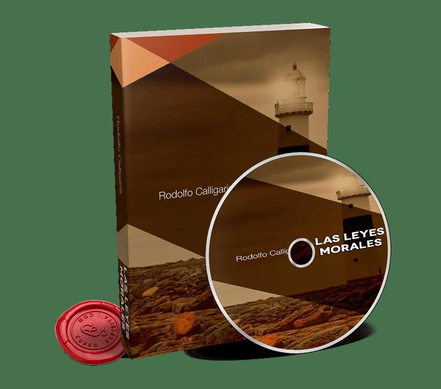 Portada Audiolibro Las Leyes Morales por Rodolfo Calligaris