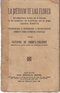 Vista del libro La Médium de las flores
