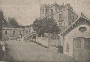 Institución Ballbé, sede de la Federación Espírita Española y del Instituto de Metapsíquica