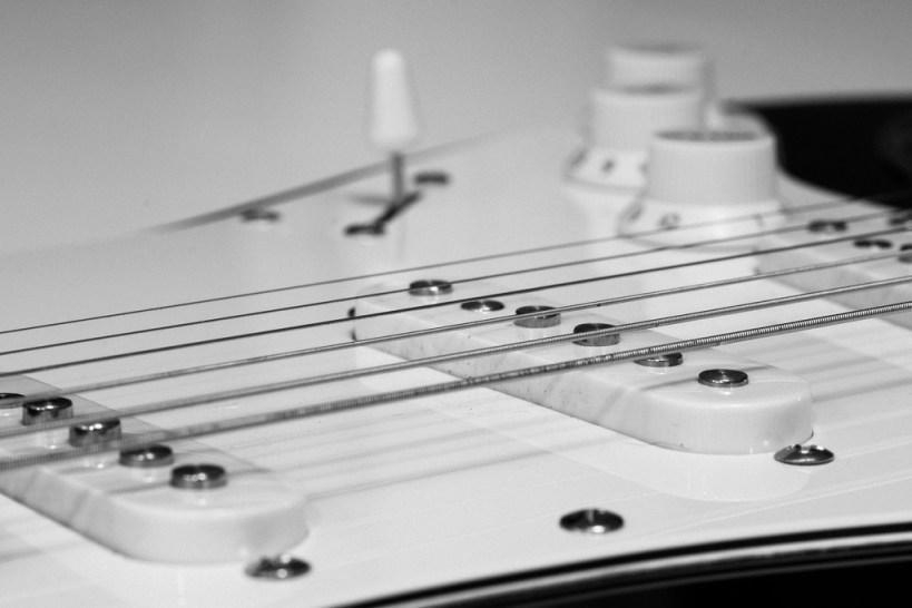 Colocación de la guitarra
