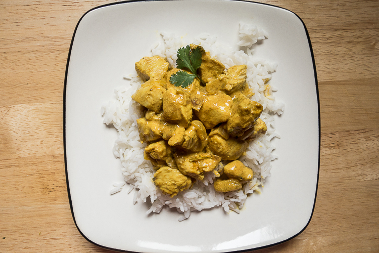 Quick, creamy, and subtly spicy: this chicken tikka masala is a weeknight dinner hit.