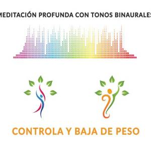 Meditación con tonos binaurales para bajar de peso - Hábitos Exitosos