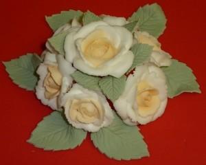 Rosas de Royal Icing curso decoracion tortas por Rosa Quintero