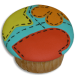 Como Decorar Cupcakes con Fondant - Club de Reposteria