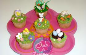 Decoraciones de Easter para Cupcakes por Rosa Quintero