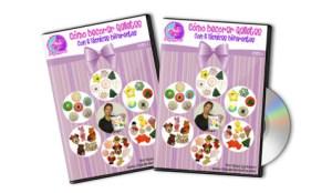 DVD's Curso Como Decorar Galletas por Rosa Quintero