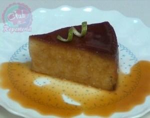 Pudin de Pastel o Torta de Naranja por Rosa Quintero