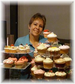 Rosa Quintero - Curso Como Hacer Cupcakes del Club de Reposteria