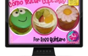 Imagen Curso Como Hacer Cupcakes por Rosa Quintero