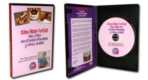 """DVD del curso """"Cómo Hacer Tortas"""" por Rosa Quintero"""