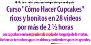 Titulo Carta de Ventas Como Hacer Cupcakes - Curso por Rosa Quintero