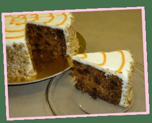 Torta de Zanahoria del Curso Como Hacer Tortas por Rosa Quintero