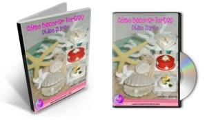DVD's del Curso Como Decorar Tortas por Rosa Quintero