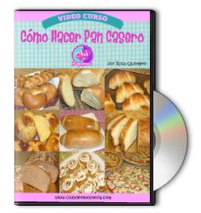 Como Hacer Pan Casero en DVD por Rosa Quintero