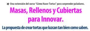 Titulo Carta Ventas Curso Tortas con Rellenos en DVD por Rosa Quintero