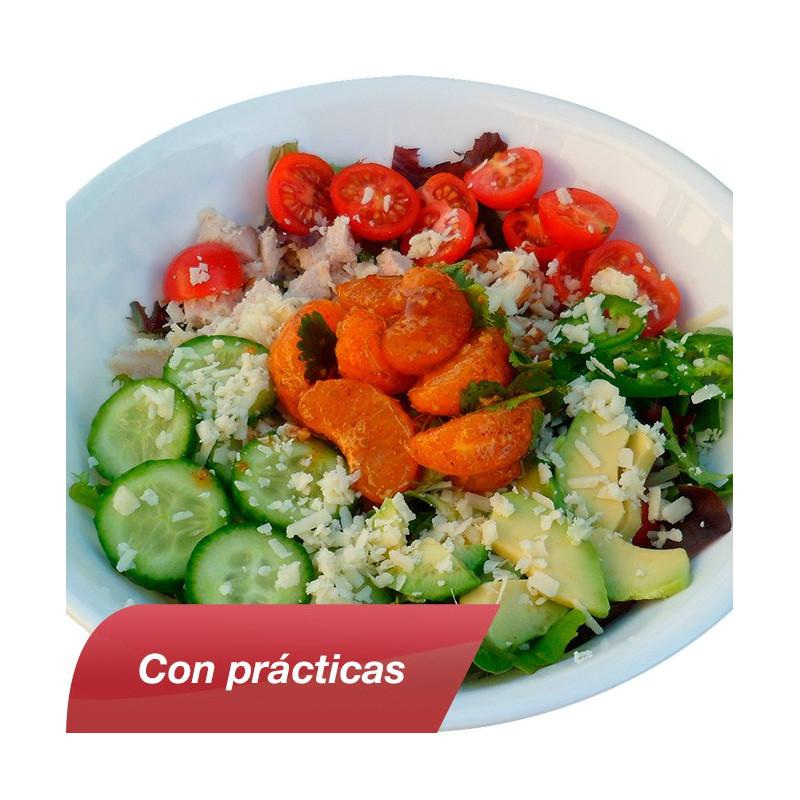 Curso de Cocina Vegetariana con Prcticas  Cursos Delena Formacin