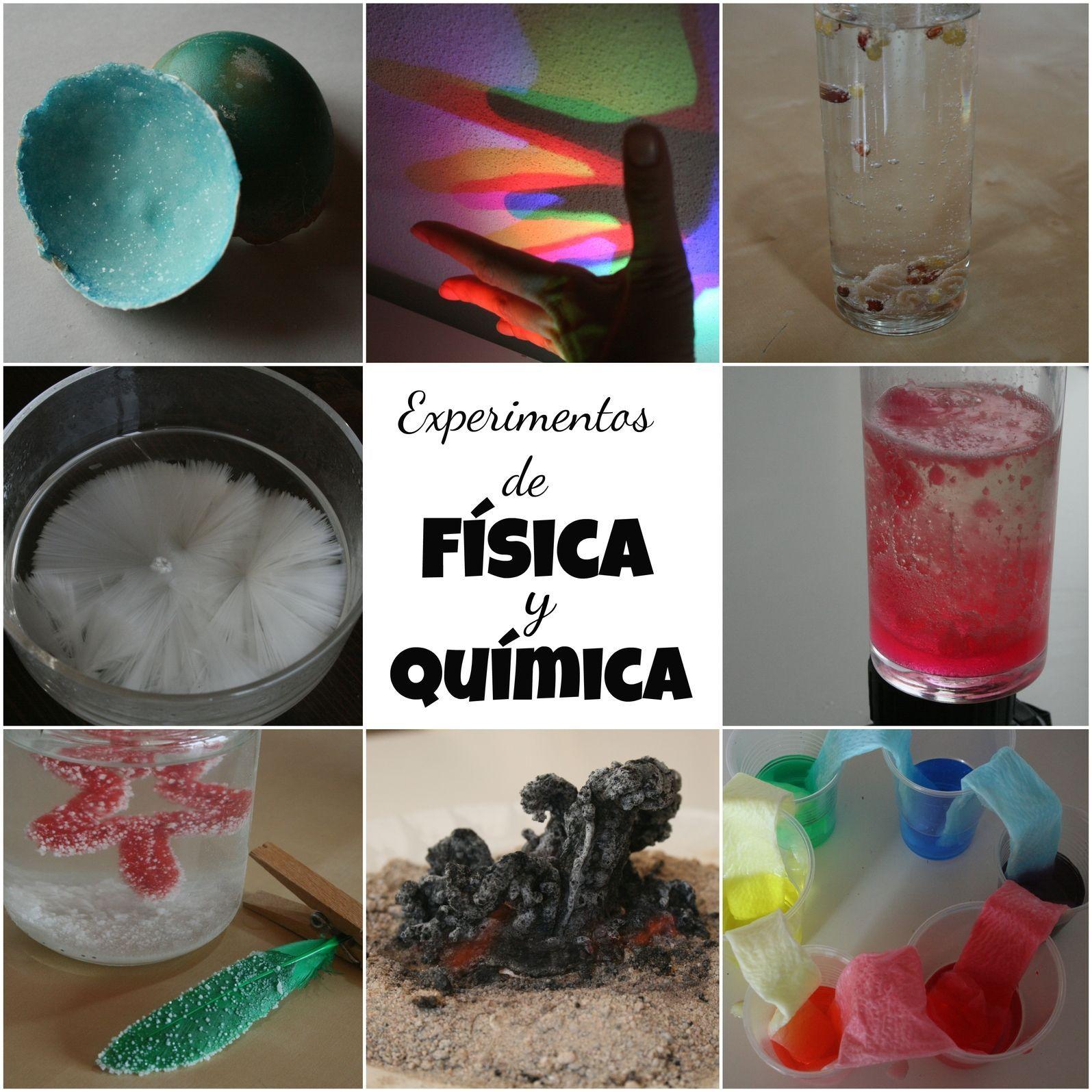 Experimentos de Fsica y Qumica  Cursos experCiencia