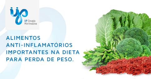 Alimentos Anti-inflamatórios na Obesidade