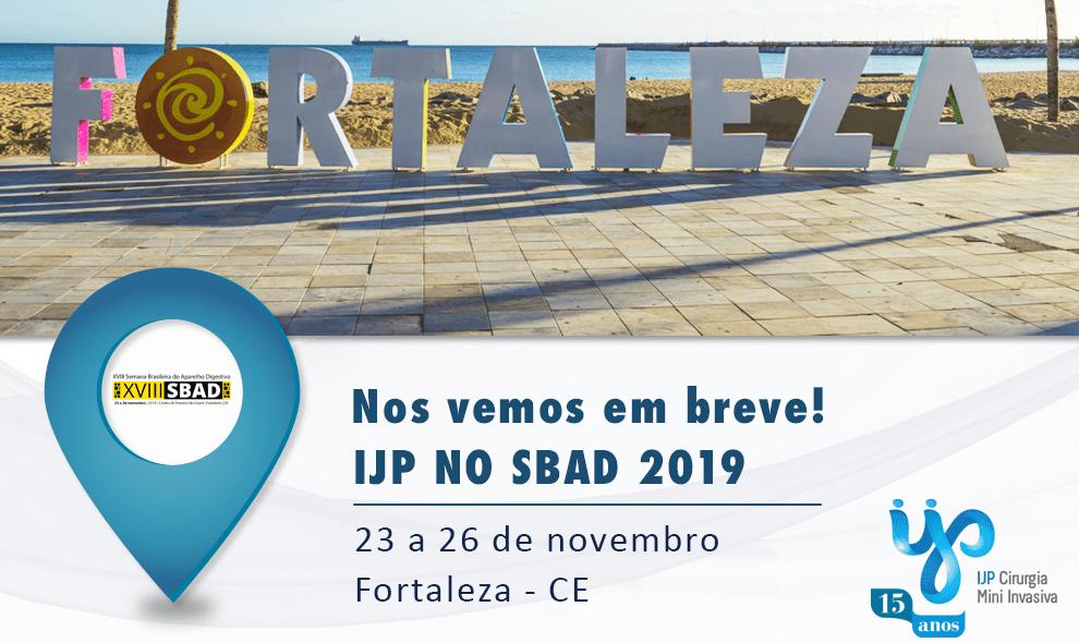 IJP na XVIII Semana Brasileira do Aparelho Digestivo – SBAD