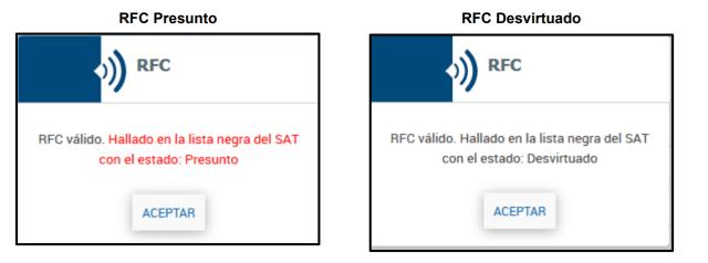 Mejoras en Aspel ADM RFC