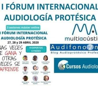 I Forum Internacional Audiología Protésica