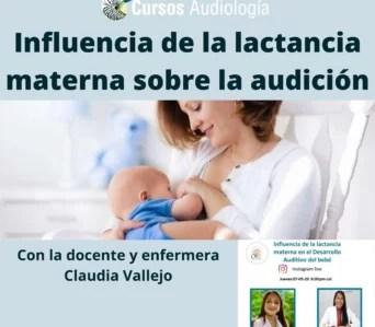 La influencia de la lactancia materna sobre la audición